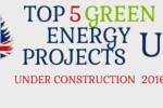 Top 5 Green Energy Projects Under Construction in the UK in 2016 Main Image