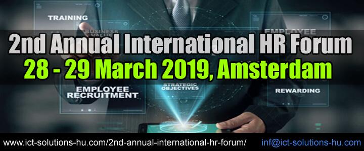 2nd Annual International HR Forum