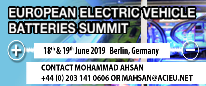 European Electric Vehicle Batteries Summit