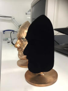Vantablack sculpture