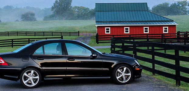 Car on a Farm