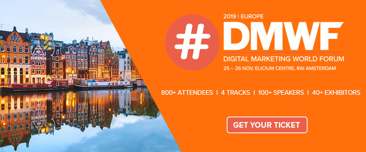 DMWF Europe 2019 – Digital Marketing World Forum – Amsterdam