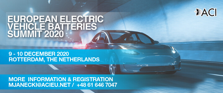 European Electric Vehicle Batteries Summit 2020