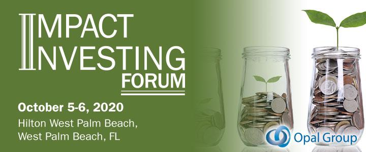 Impact Investing Forum 2020